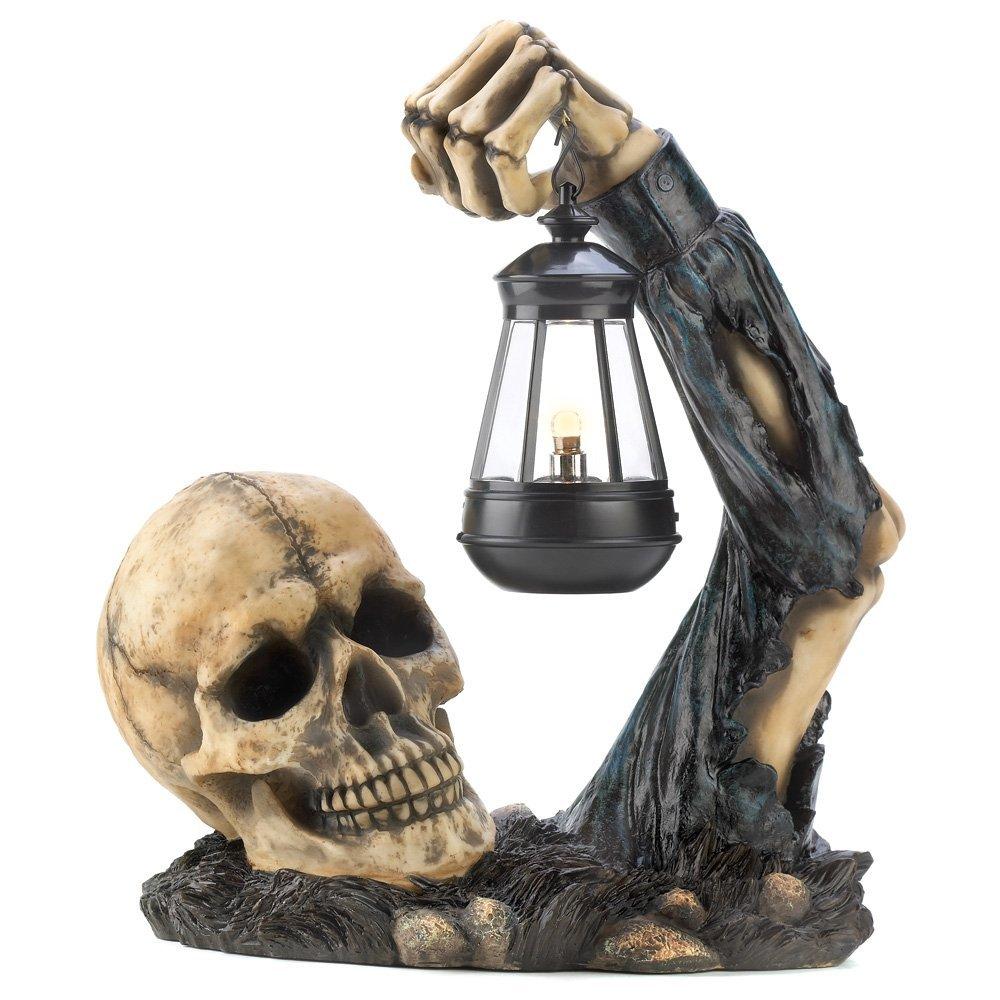 Skull With Lantern Halloween Party