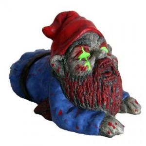 Zombie gnome decor